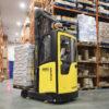 Bohater niskich temperatur – nowy wózek wysokiego składowania Hyster® do pracy w chłodni