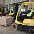 Wózki podnośnikowe HYSTER pokonują wszelkie wyzwania w obsłudze logistycznej automotive