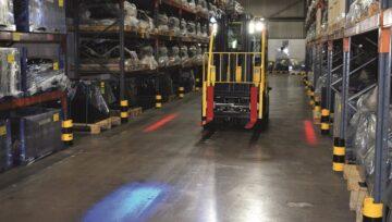 Funkcje zwiększające świadomość na temat wózka, pomagają redukować koszty i konserwację