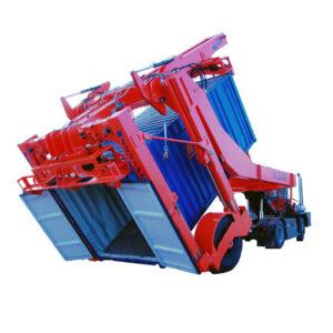 Wózki teleskopowe do rozładunku kontenerów