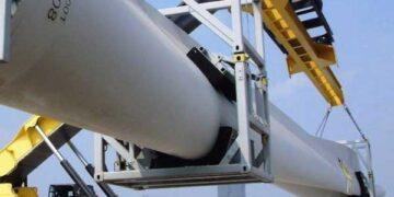 Rozwiązania dla transportu rur i elementów wiatraka