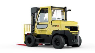 Nowe wózki Hyster®, o udźwigu 7 i 8 ton serii Fortens™
