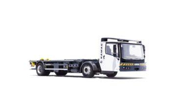 Transporter logistyczny KAMAG do kontenerów BDF Swap Body