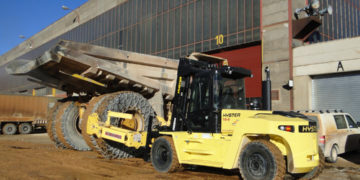 Obsługa opon w kamieniołomach i maszynach do robót ziemnych
